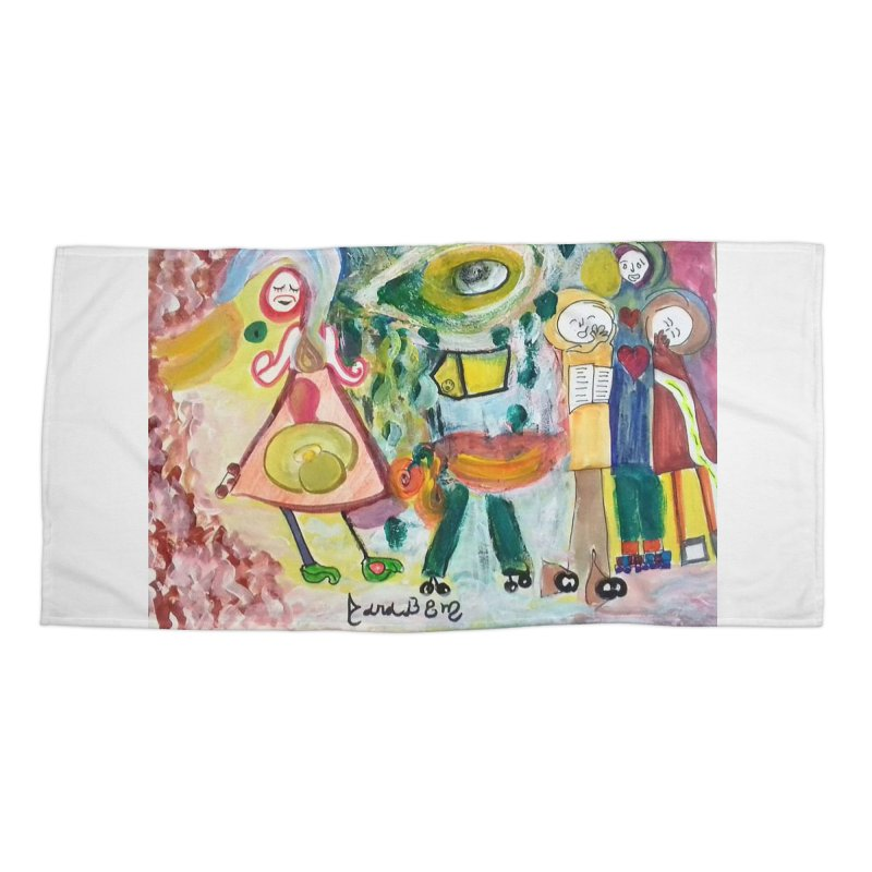 Praise the difference Accessories Beach Towel by Darabem's Artist Shop. Darabem Collection
