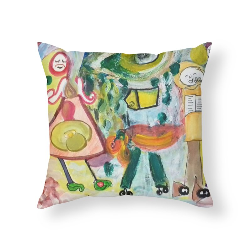 Praise the difference Home Throw Pillow by Darabem's Artist Shop. Darabem Collection