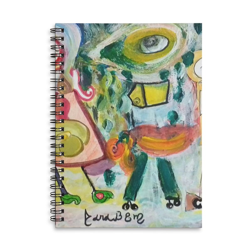 Praise the difference Accessories Lined Spiral Notebook by Darabem's Artist Shop. Darabem Collection