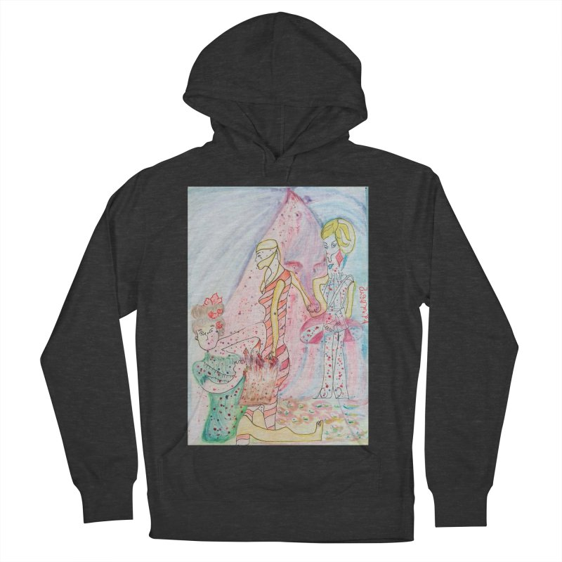 Celebrity Men's French Terry Pullover Hoody by Darabem's Artist Shop. Darabem Collection