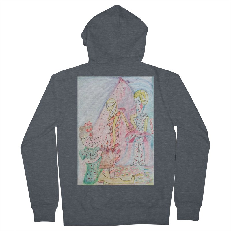 Celebrity Women's French Terry Zip-Up Hoody by Darabem's Artist Shop. Darabem Collection