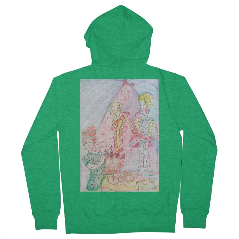 Celebrity Men's Zip-Up Hoody by Darabem's Artist Shop. Darabem Collection