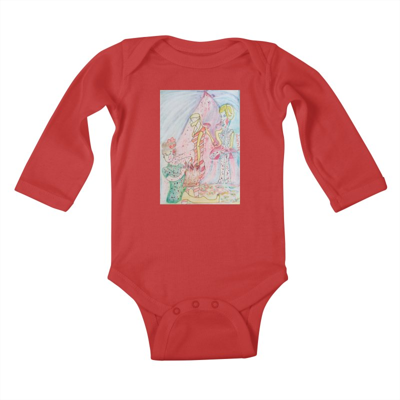Celebrity Kids Baby Longsleeve Bodysuit by Darabem's Artist Shop. Darabem Collection