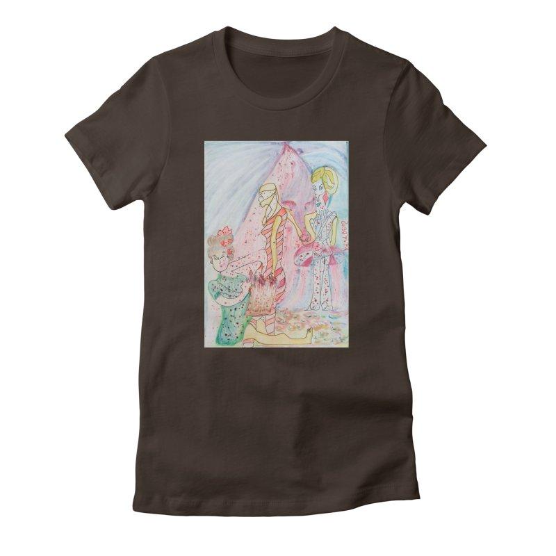 Celebrity Women's T-Shirt by Darabem's Artist Shop. Darabem Collection