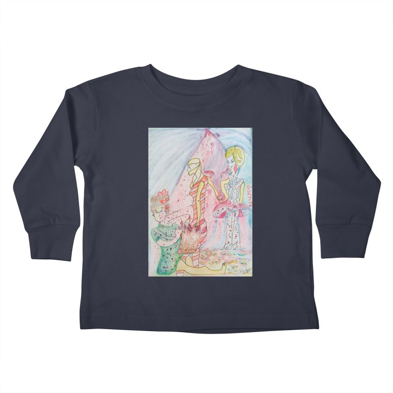 Celebrity Kids Toddler Longsleeve T-Shirt by Darabem's Artist Shop. Darabem Collection
