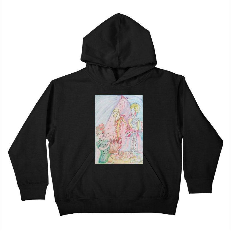 Celebrity Kids Pullover Hoody by Darabem's Artist Shop. Darabem Collection