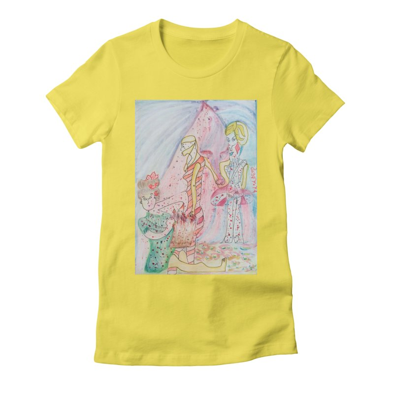 Celebrity Women's T-Shirt by Darabem's Artist Shop. Darabem Collection