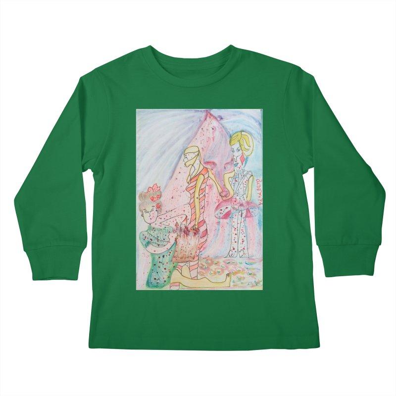 Celebrity Kids Longsleeve T-Shirt by Darabem's Artist Shop. Darabem Collection