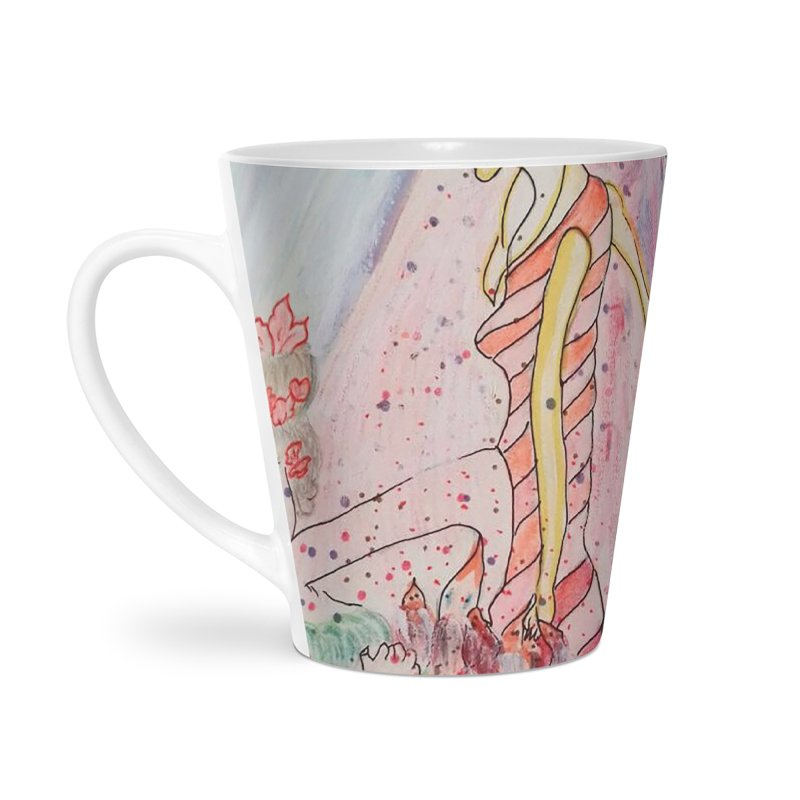 Celebrity Accessories Latte Mug by Darabem's Artist Shop. Darabem Collection