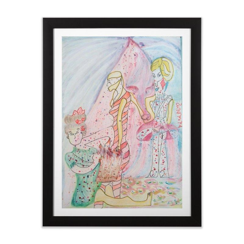 Celebrity Home Framed Fine Art Print by Darabem's Artist Shop. Darabem Collection
