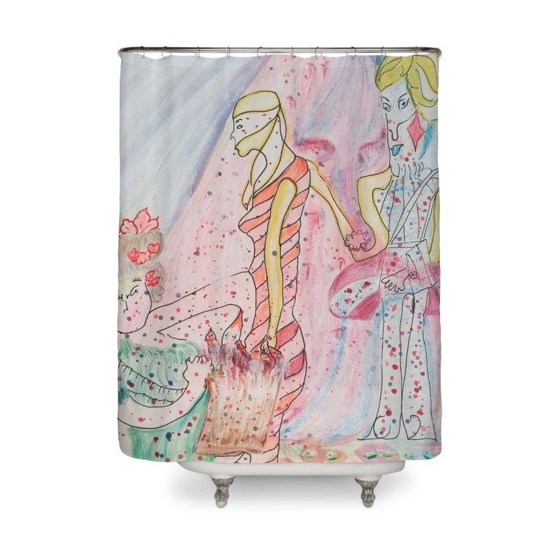 Celebrity Home Shower Curtain by Darabem's Artist Shop. Darabem Collection