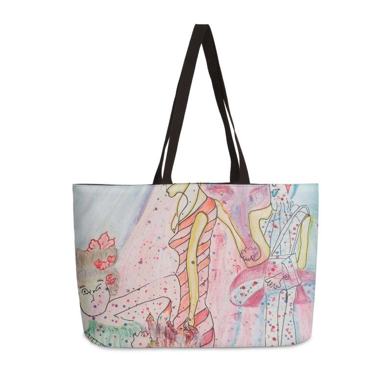 Celebrity Accessories Weekender Bag Bag by Darabem's Artist Shop. Darabem Collection