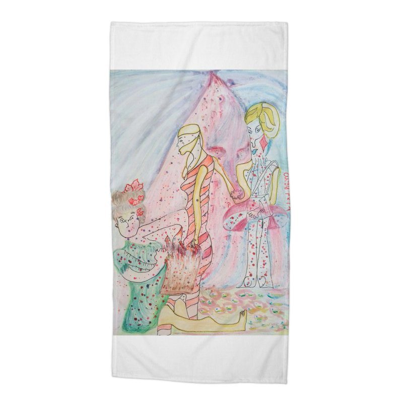 Celebrity Accessories Beach Towel by Darabem's Artist Shop. Darabem Collection