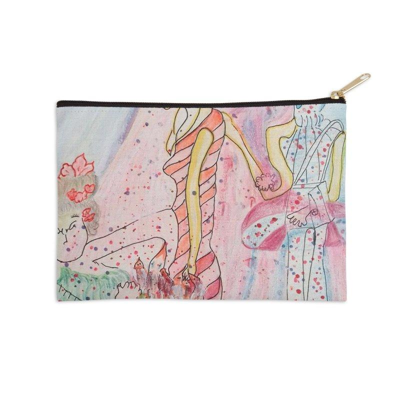 Celebrity Accessories Zip Pouch by Darabem's Artist Shop. Darabem Collection
