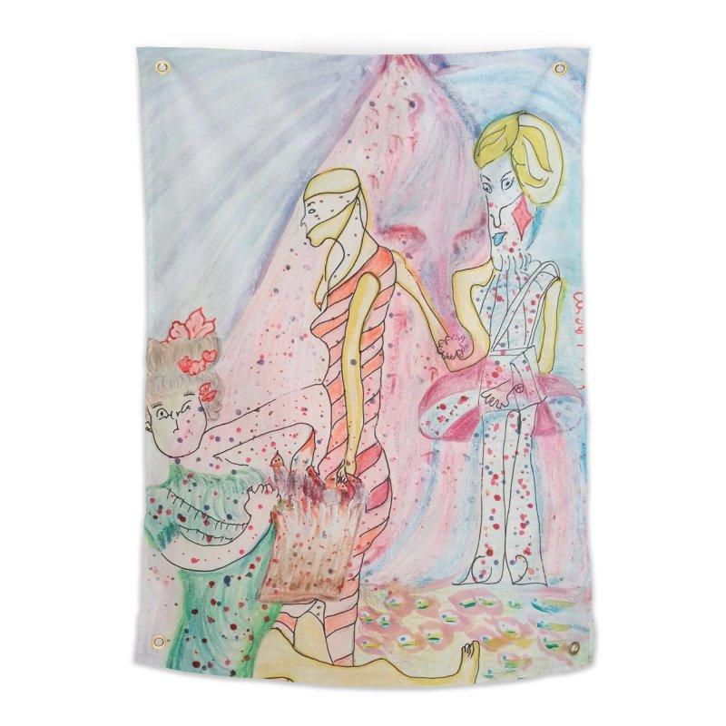Celebrity Home Tapestry by Darabem's Artist Shop. Darabem Collection