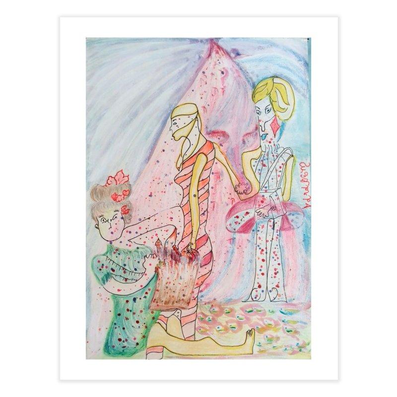 Celebrity Home Fine Art Print by Darabem's Artist Shop. Darabem Collection
