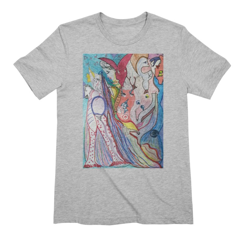Kaleidoscope cast Men's Extra Soft T-Shirt by Darabem's Artist Shop. Darabem Collection