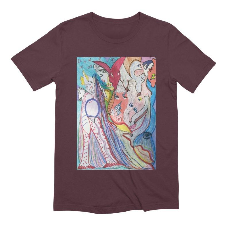 Kaleidoscope cast Men's Extra Soft T-Shirt by Darabem's Artist Shop. Darabem Collection
