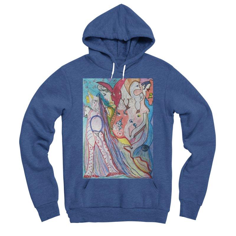 Kaleidoscope cast Women's Sponge Fleece Pullover Hoody by Darabem's Artist Shop. Darabem Collection