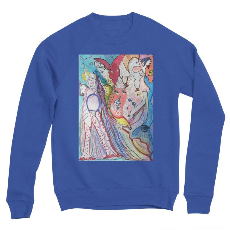 Kaleidoscope cast Men's Sweatshirt by Darabem's Artist Shop. Darabem Collection