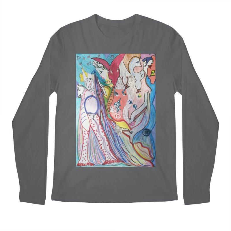 Kaleidoscope cast Men's Longsleeve T-Shirt by Darabem's Artist Shop. Darabem Collection