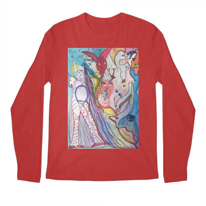 Kaleidoscope cast Men's Regular Longsleeve T-Shirt by Darabem's Artist Shop. Darabem Collection