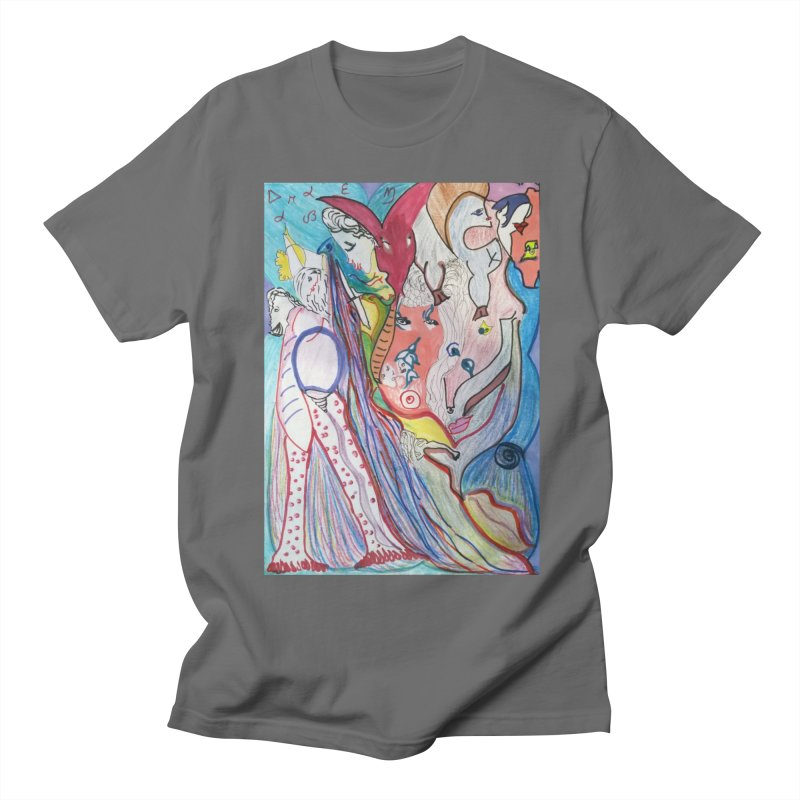 Kaleidoscope cast Men's T-Shirt by Darabem's Artist Shop. Darabem Collection
