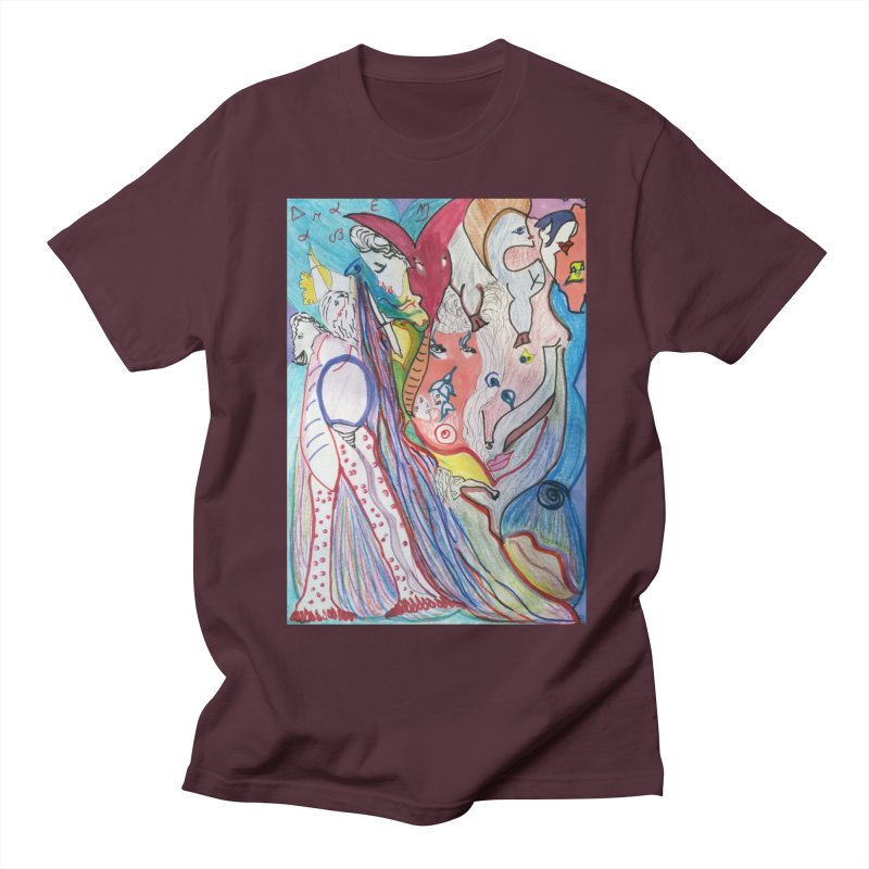 Kaleidoscope cast Men's Regular T-Shirt by Darabem's Artist Shop. Darabem Collection