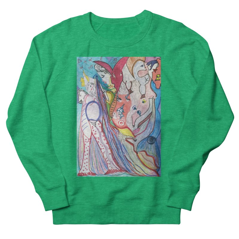 Kaleidoscope cast Women's French Terry Sweatshirt by Darabem's Artist Shop. Darabem Collection