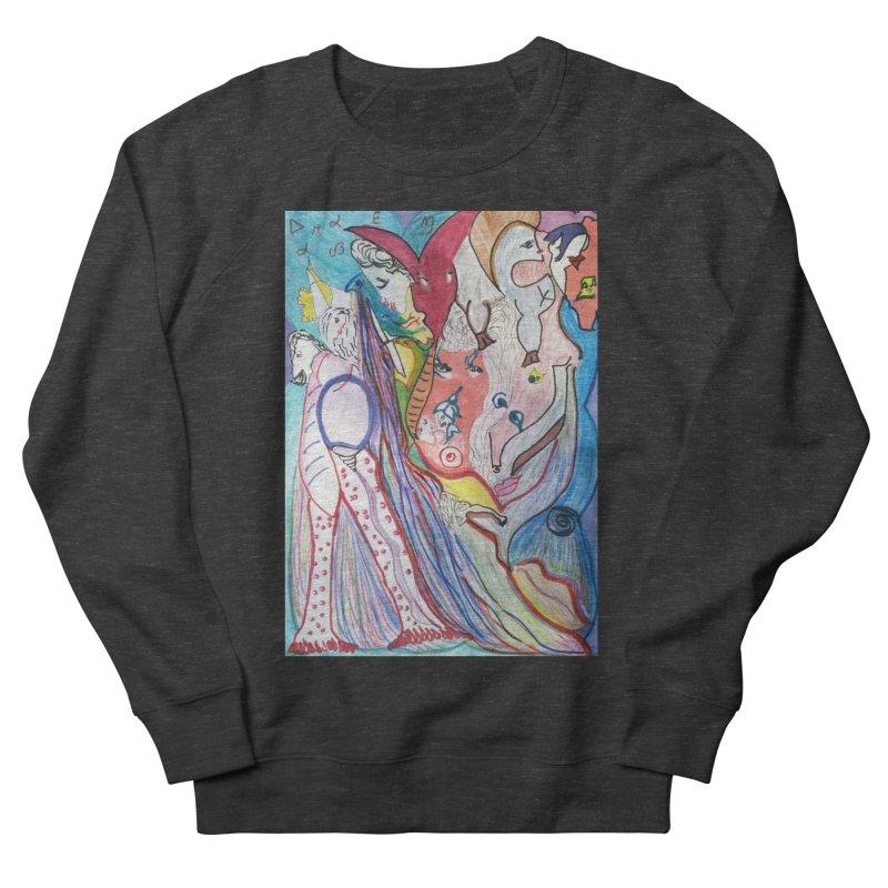 Kaleidoscope cast Men's French Terry Sweatshirt by Darabem's Artist Shop. Darabem Collection