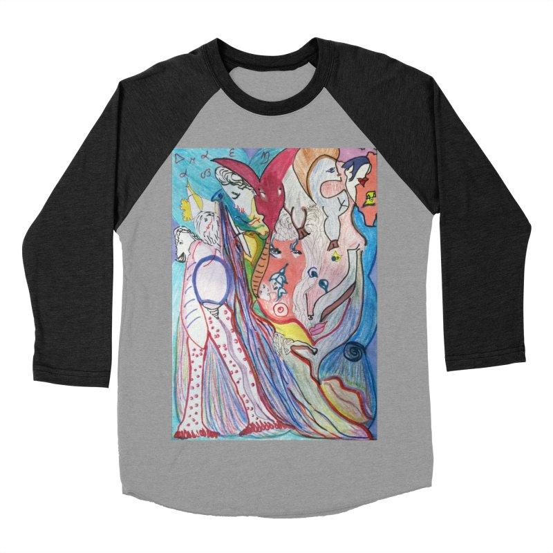 Kaleidoscope cast Women's Baseball Triblend Longsleeve T-Shirt by Darabem's Artist Shop. Darabem Collection