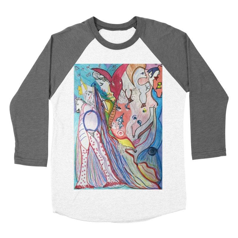 Kaleidoscope cast Men's Baseball Triblend Longsleeve T-Shirt by Darabem's Artist Shop. Darabem Collection