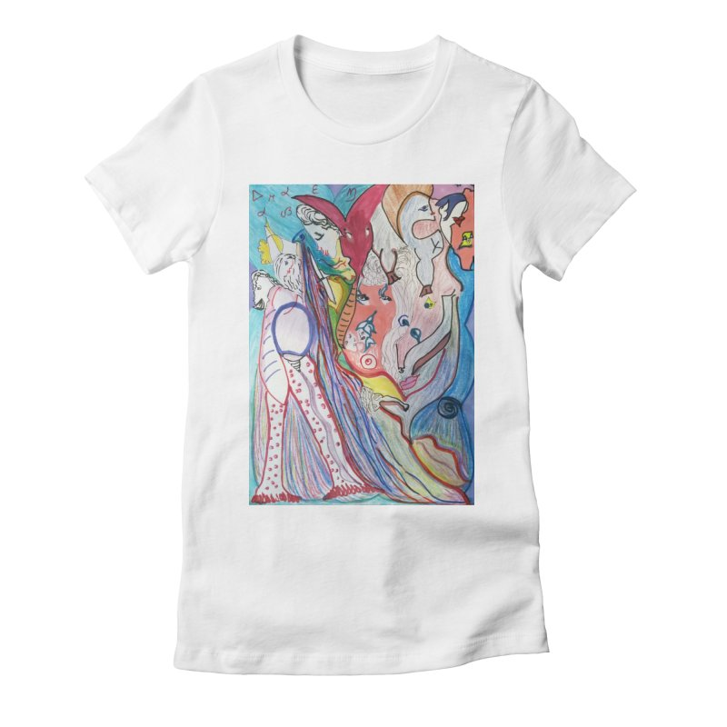 Kaleidoscope cast Women's T-Shirt by Darabem's Artist Shop. Darabem Collection