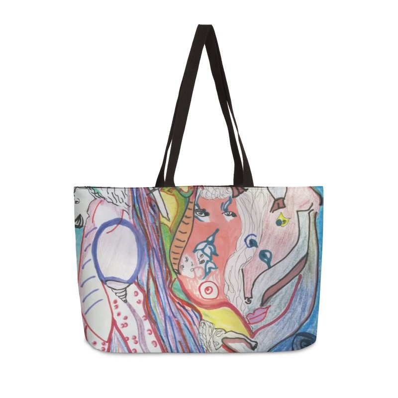 Kaleidoscope cast Accessories Weekender Bag Bag by Darabem's Artist Shop. Darabem Collection