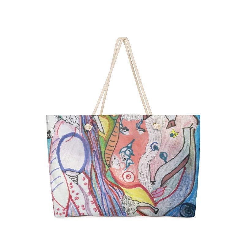 Kaleidoscope cast Accessories Bag by Darabem's Artist Shop. Darabem Collection