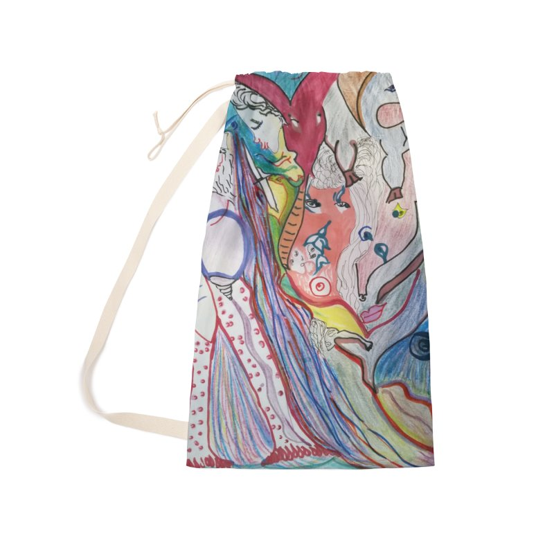 Kaleidoscope cast Accessories Bag by Darabem's Artist Shop. Darabem Collection