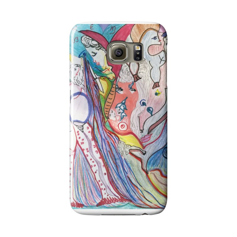 Kaleidoscope cast Accessories Phone Case by Darabem's Artist Shop. Darabem Collection