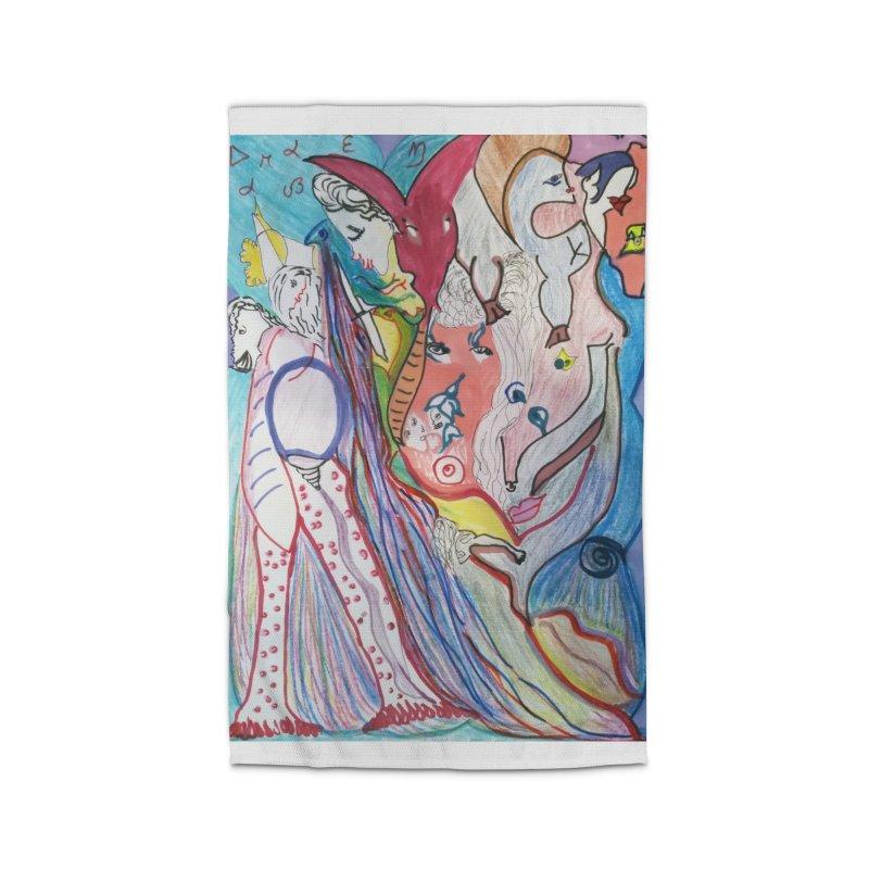Kaleidoscope cast Home Rug by Darabem's Artist Shop. Darabem Collection