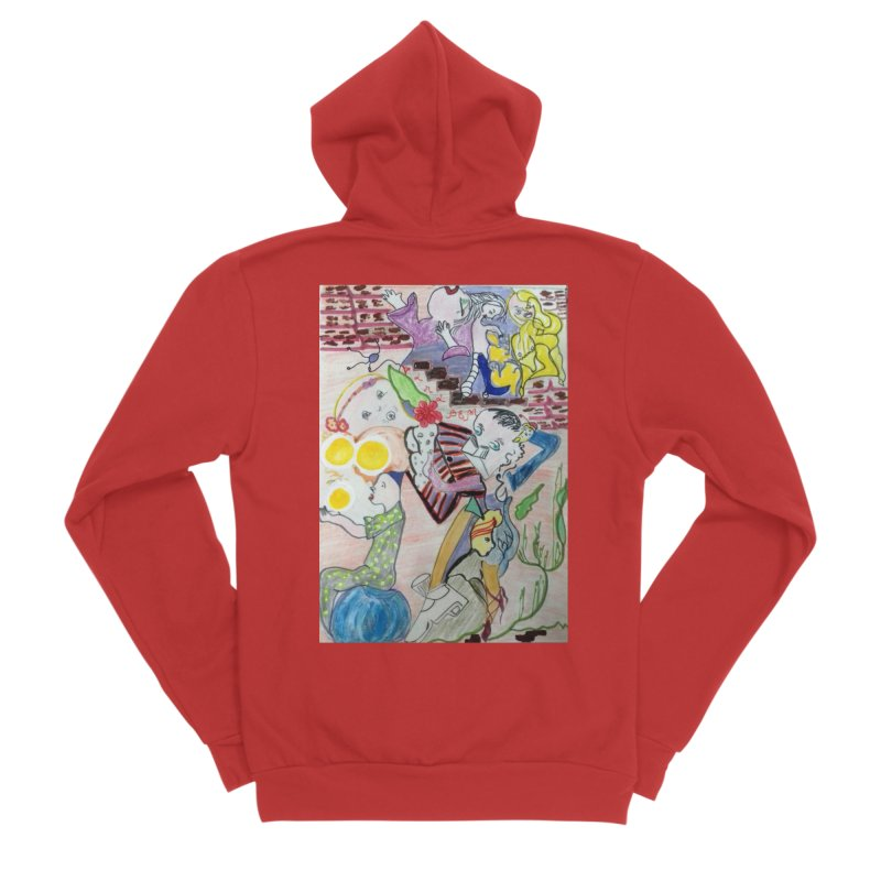 casting V. All of us Women's Zip-Up Hoody by Darabem's Artist Shop. Darabem Collection