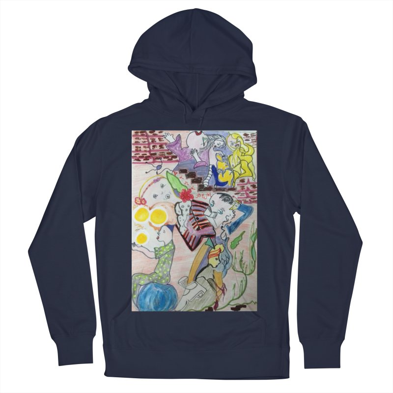 casting V. All of us Men's French Terry Pullover Hoody by Darabem's Artist Shop. Darabem Collection