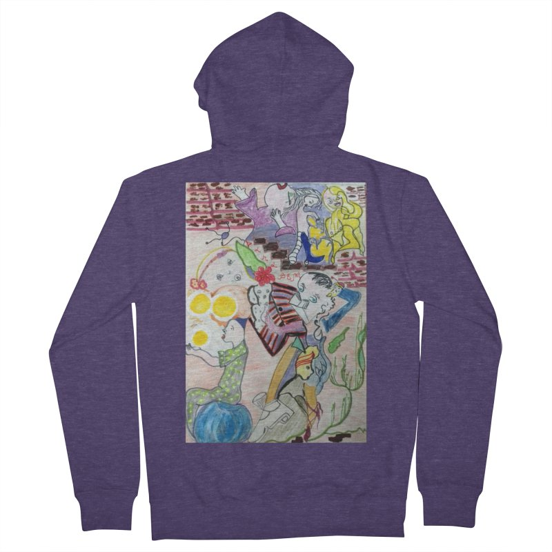 casting V. All of us Men's French Terry Zip-Up Hoody by Darabem's Artist Shop. Darabem Collection