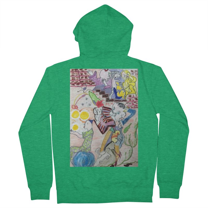 casting V. All of us Men's Zip-Up Hoody by Darabem's Artist Shop. Darabem Collection