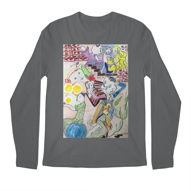 casting V. All of us Men's Longsleeve T-Shirt by Darabem's Artist Shop. Darabem Collection