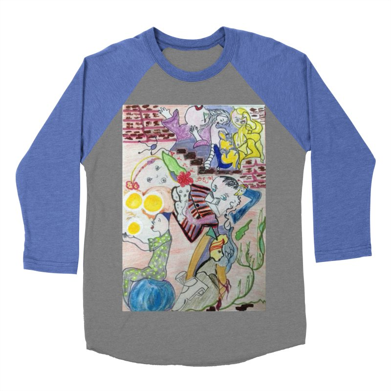 casting V. All of us Women's Baseball Triblend Longsleeve T-Shirt by Darabem's Artist Shop. Darabem Collection