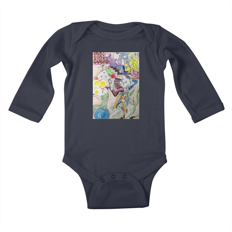 casting V. All of us Kids Baby Longsleeve Bodysuit by Darabem's Artist Shop. Darabem Collection