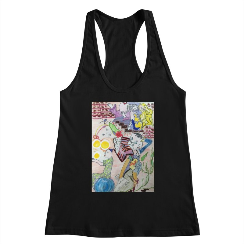 casting V. All of us Women's Tank by Darabem's Artist Shop. Darabem Collection