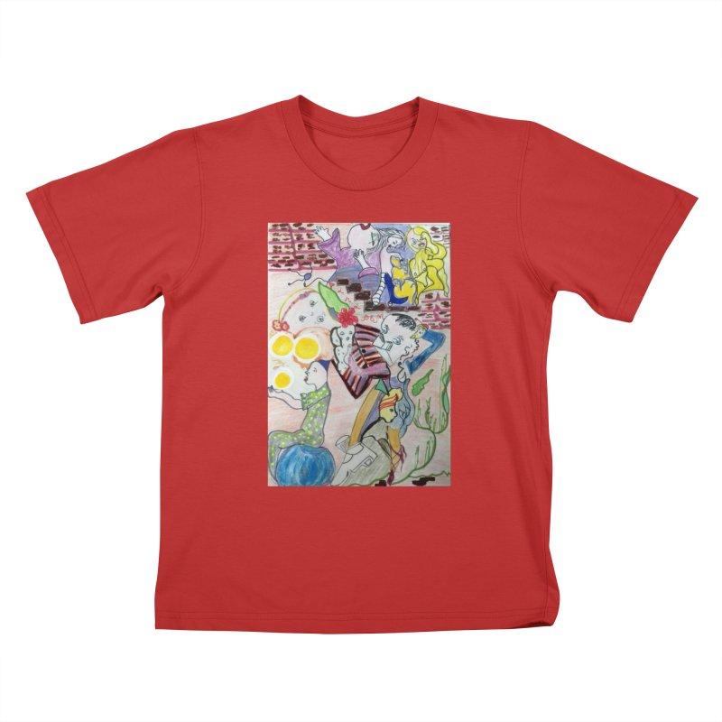 casting V. All of us Kids T-Shirt by Darabem's Artist Shop. Darabem Collection