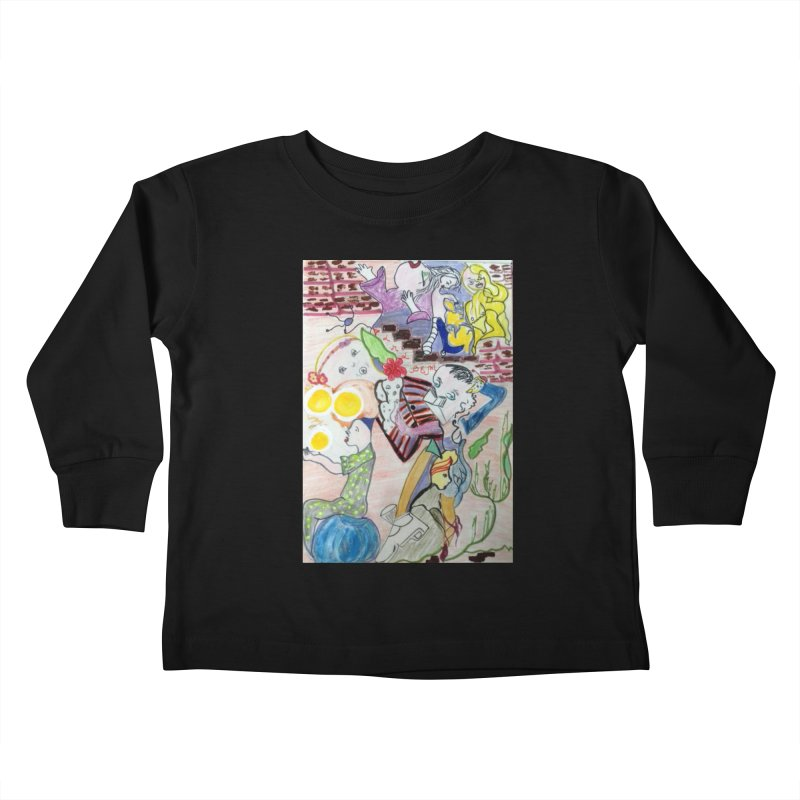 casting V. All of us Kids Toddler Longsleeve T-Shirt by Darabem's Artist Shop. Darabem Collection