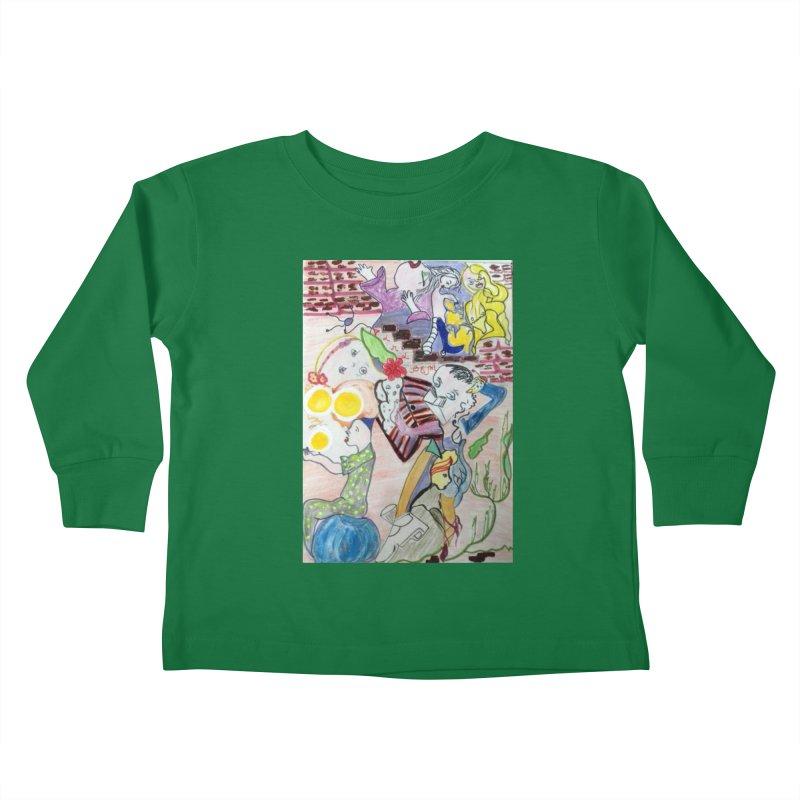 casting V. All of us Kids Toddler Longsleeve T-Shirt by Darabem's Artist Shop. Darabem Collection