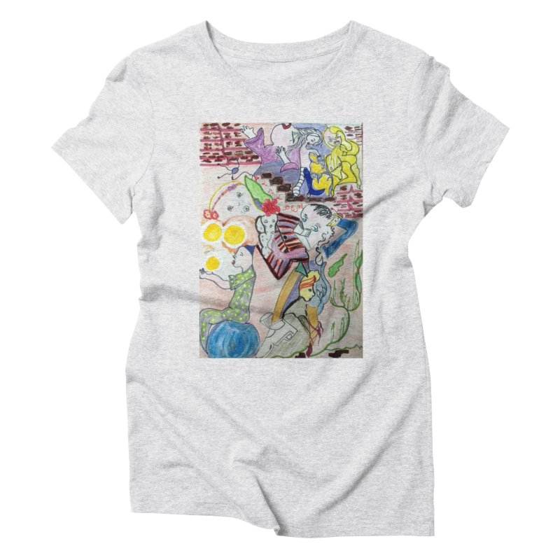 casting V. All of us Women's T-Shirt by Darabem's Artist Shop. Darabem Collection